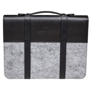 J.H&F Document case Black