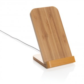Bamboo 5W trådløs oplade stand