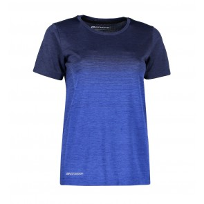 Women seamless striped s/s T-shirt