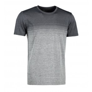 Man seamless striped s/s T-shirt